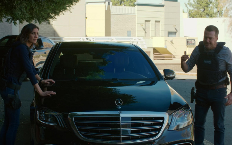 Mercedes-Benz S63 AMG Car in NCIS Los Angeles S12E13 Red Rover, Red Rover (2021)