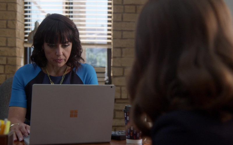 Microsoft Surface Laptop Used by Actress in Good Trouble S03E06 Help (2021)