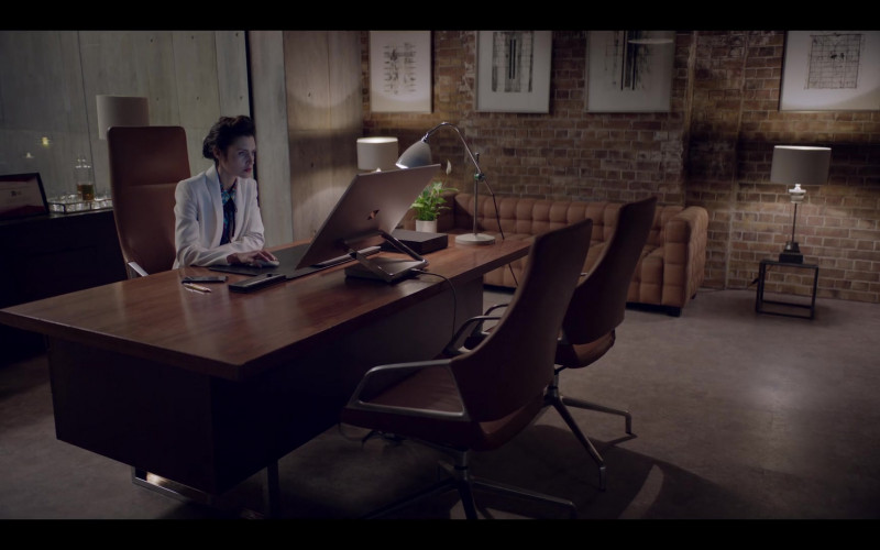 Microsoft Surface Studio Computer Used by Hannah Ware as Rebecca Webb in The One S01E02 (2021)