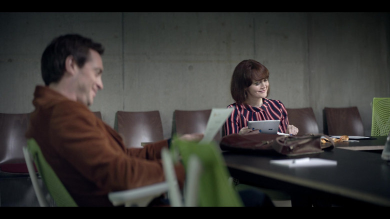 Microsoft Surface Tablet Used by Actress in The One S01E06 (2021)