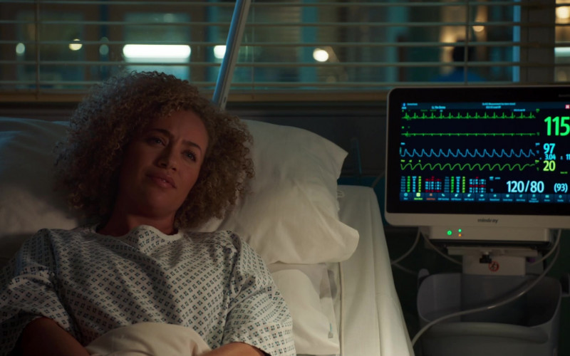 Mindray Medical Device in Holby City S22E43 (2021)