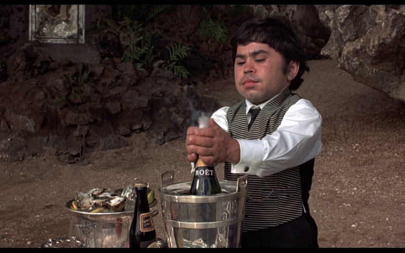 Moët & Chandon Champagne in The Man with the Golden Gun (1974)
