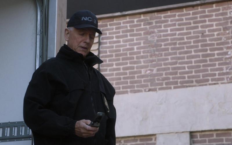 Motorola Flip Mobile Phone of Mark Harmon as Leroy Jethro Gibbs in NCIS S18E09 Winter Chill (2021)