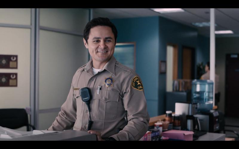 Motorola Radio of Arturo Castro as Officer Jones in Yes Day (2021)
