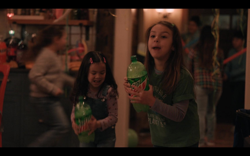 Mountain Dew Soda Bottles in Yes Day Movie (2)