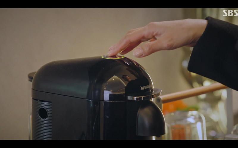 Nespresso Coffee Pod Machine in The Penthouse War in Life – Korean TV Show (1)