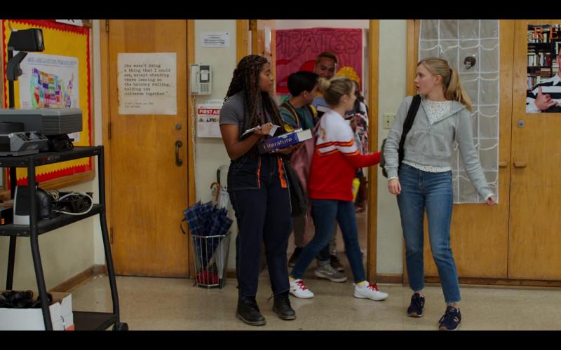 New Balance Women's Sneakers of Hadley Robinson as Vivian Carter in Moxie (1)