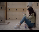 Nike Air Force 1 Sneakers of Chloe East as Naomi in Generati...