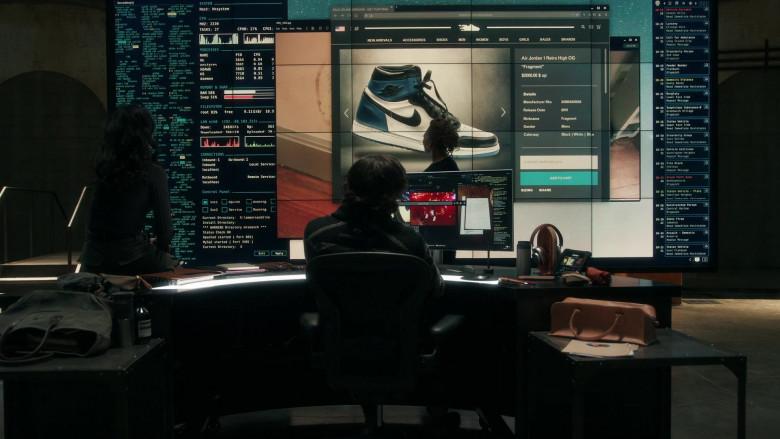 Nike Air Jordan 1 Retro High OG 'Fragment' Sneakers in The Equalizer S01E04 (1)