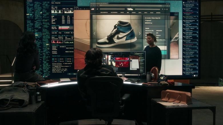 Nike Air Jordan 1 Retro High OG 'Fragment' Sneakers in The Equalizer S01E04 (2)