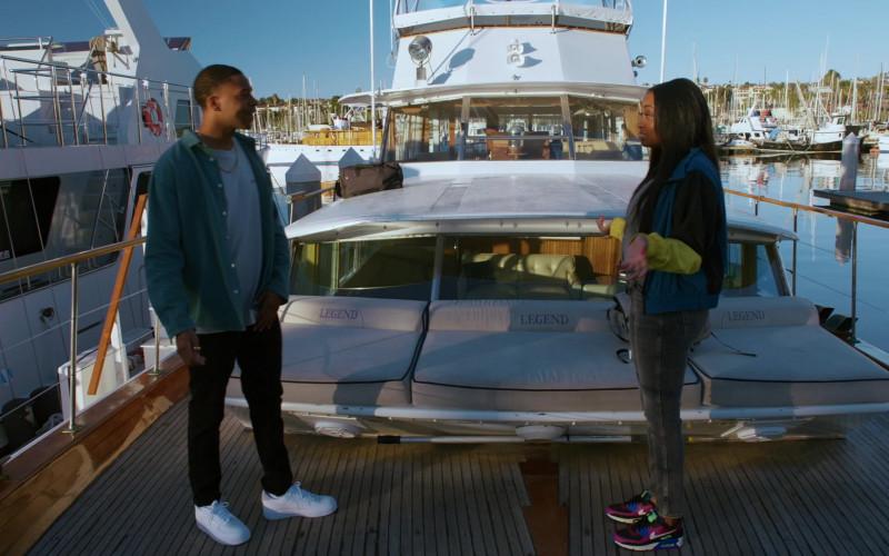 Nike AirMax 90 Sneakers of Kayla Smith as Kamran 'Kam' Hanna in NCIS Los Angeles S12E12 (1)