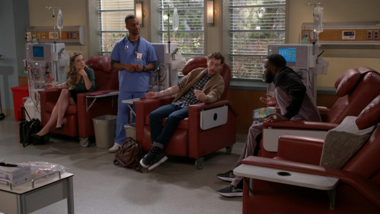 Nike Men's Sneakers of Actor Terrence Terrell as Eli in B Positive S01E10 B Negative Part 2 (2021)
