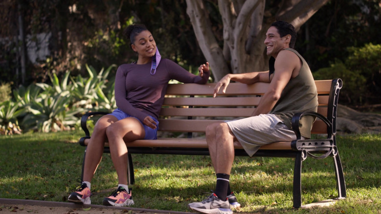Nike Renew Run Men's Running Shoe Worn by Actor in Station 19 S04E07 Learning to Fly (2021)