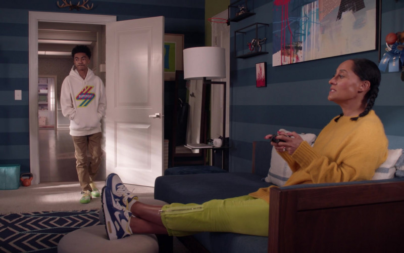 Nike Women's Sneakers of Tracee Ellis Ross in Black-ish S07E14 Things Done Changed (2021)