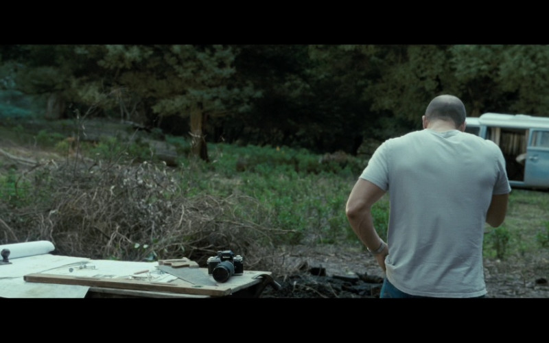 Nikon Camera in Killer Elite (2011)