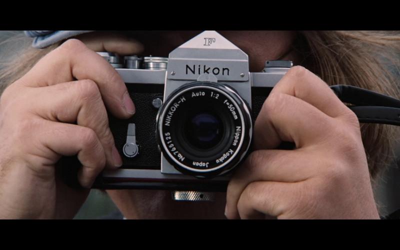 Nikon F camera in Diamonds Are Forever (1971)