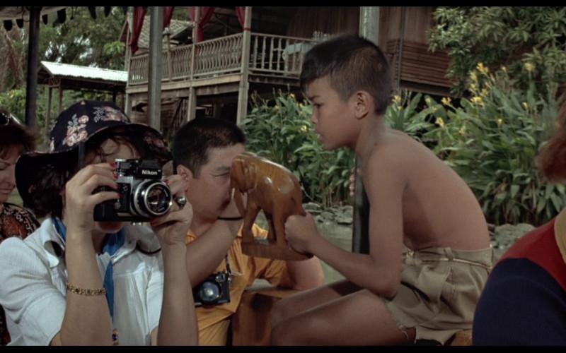 Nikon photography camera in The Man with the Golden Gun (1974)