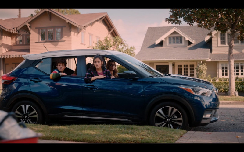Nissan Kicks Blue Subcompact Crossover in Yes Day (2021)