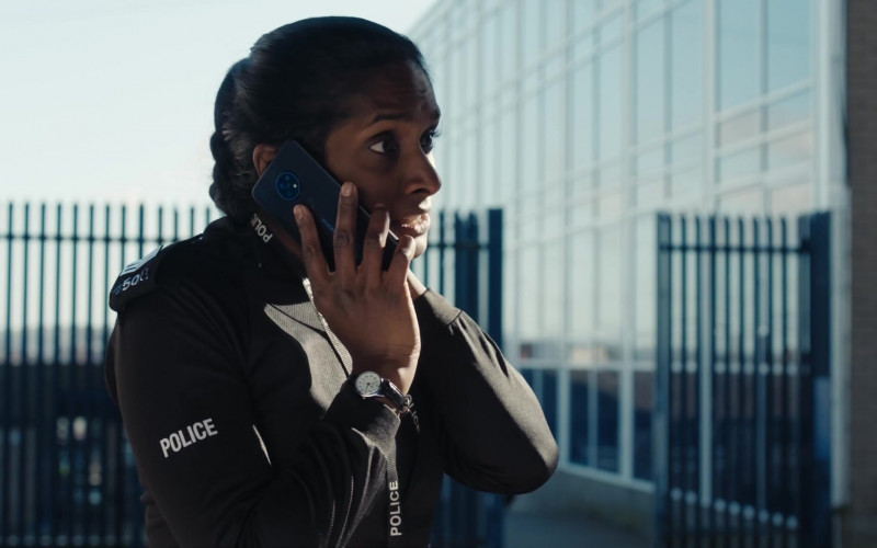 Nokia Smartphone of Anneika Rose as Farida in Line of Duty S06E01 (2021)