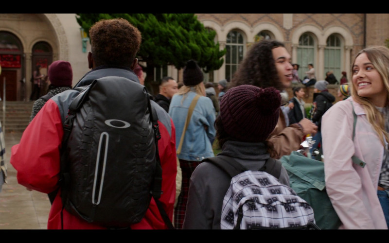 Oakley Motion Black Backpack in Moxie (2021)