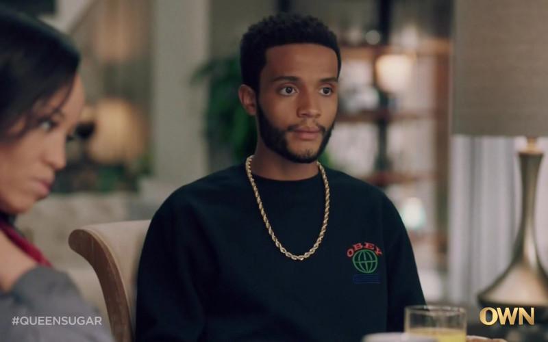 Obey Men's Sweatshirt in Queen Sugar S05E07 June 1, 2020 (2021)