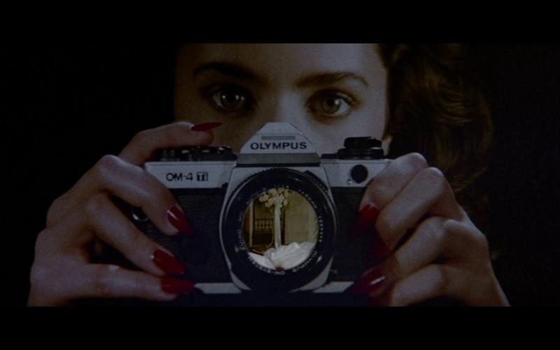 Olympus OM-4 Ti Camera in Licence To Kill (1989)