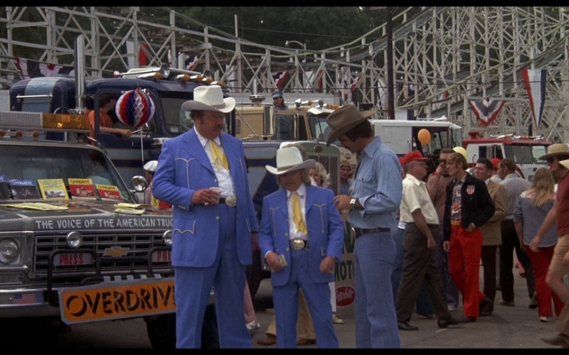 Overdrive Magazine in Smokey and the Bandit (1977)