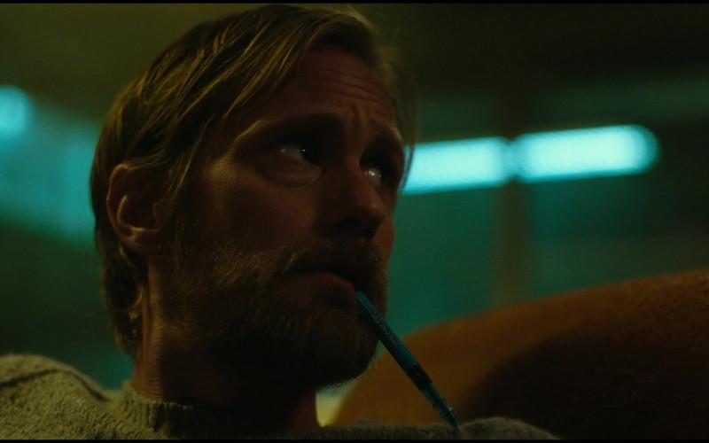 PILOT Precise V5 Stick Liquid Ink Rolling Ball Pen of Alexander Skarsgård as Dr. Nathan Lind in Godzilla vs. Ko