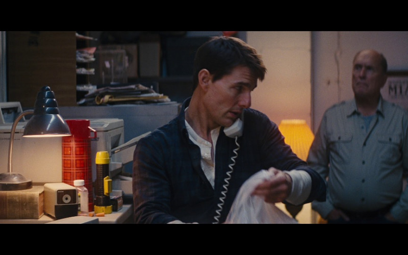 Panasonic Printer in Jack Reacher (2012)