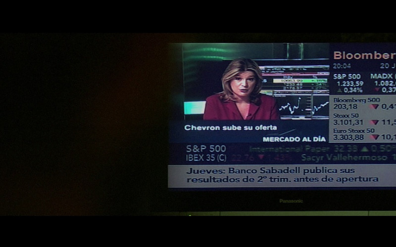 Panasonic television, Bloomberg & Chevron in Miami Vice (2006)