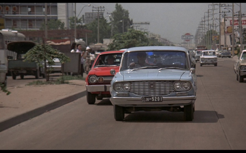 Pepsi, Datsun, Shell & Firestone in The Man with the Golden Gun (1974)