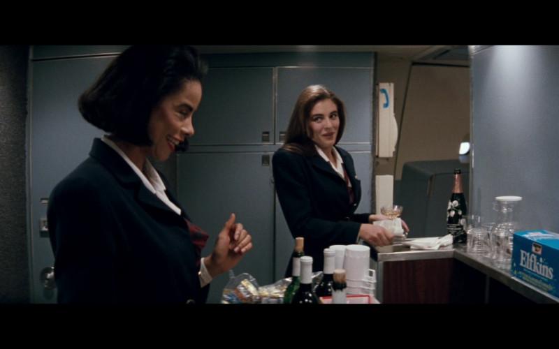 Perrier-Jouët Champagne in Passenger 57 (1992)