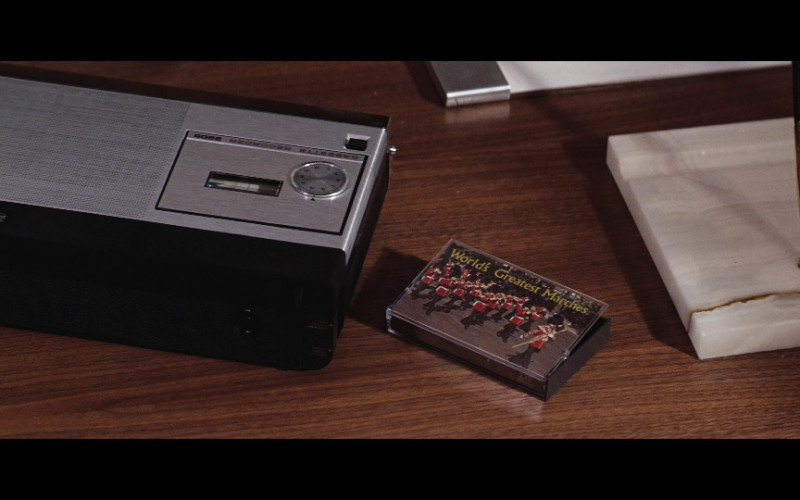 Philips 2205 cassette recorder in Diamonds Are Forever (1971)