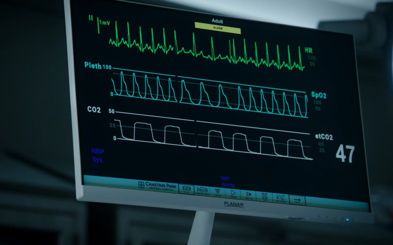 Planar Monitor in The Resident S04E07 (1)