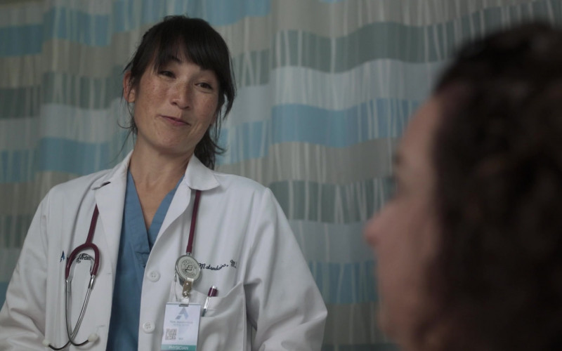 Prestige Medical Stethoscope of Kimiye Corwin as Dr. Jan Matsudaira in New Amsterdam S03E02 Essential Workers (2021)