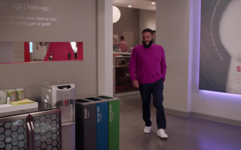 Primo Water Dispenser in Black-ish S07E16 100 Yards and Runnin' (2021)
