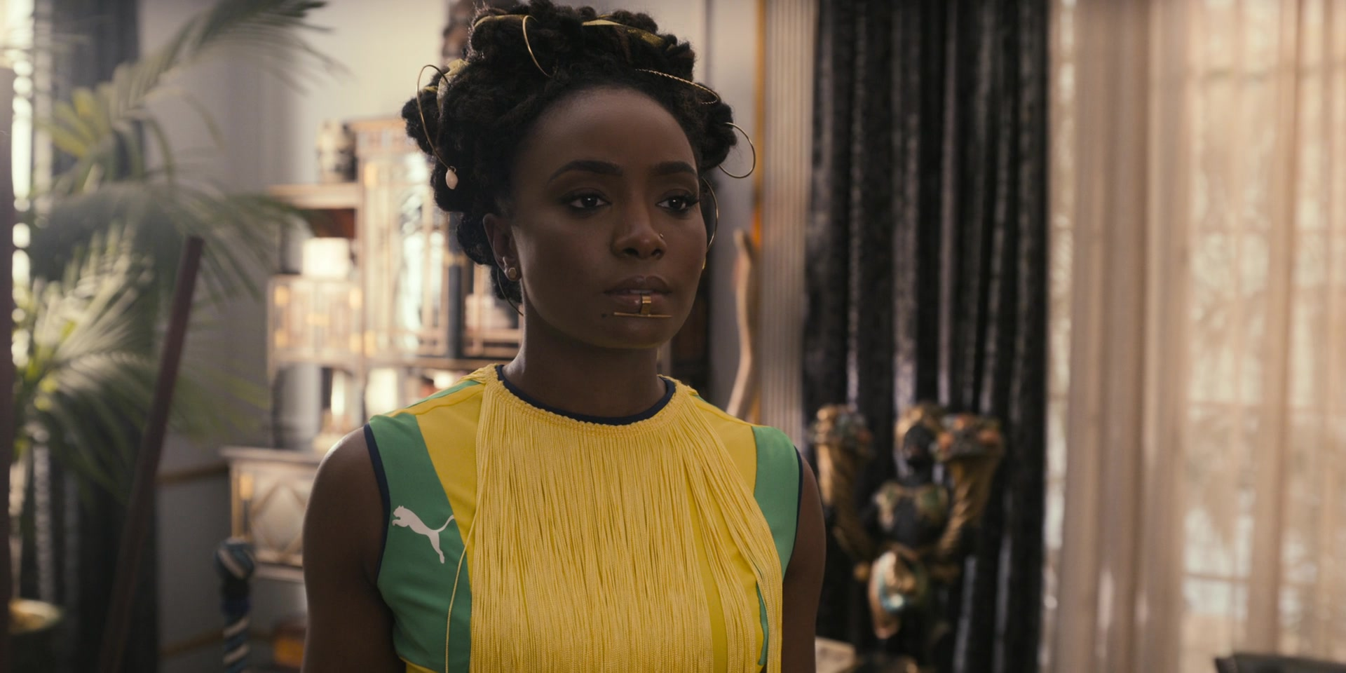 Puma Dress Of KiKi Layne As Princess Meeka Joffer In Coming 2 America (2021)
