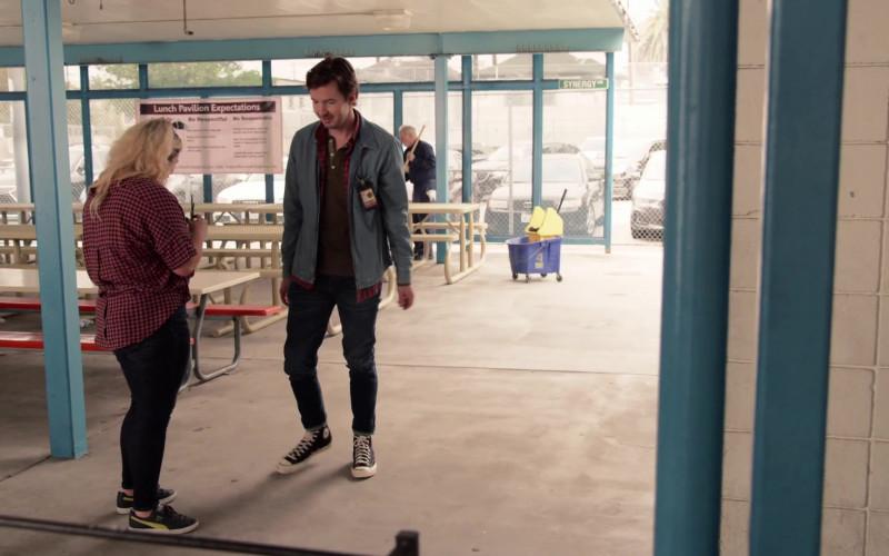 Puma Women's Shoes of Emma Hunton as Davia Moss and Converse Men's Shoes in Good Trouble S03E03 Whoosh, Pow, Bang (2021)