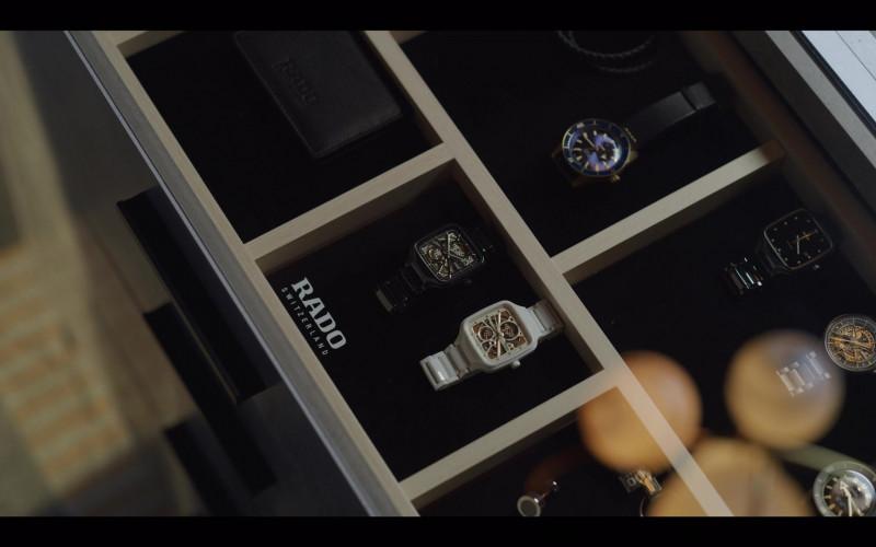 Rado Men's Wrist Watches in Vincenzo S01E08 South Korean TV Series