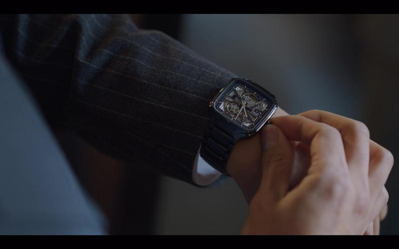 Rado True Square Watch For Men in Vincenzo S01E08 (2021) Netflix South Korean TV Show