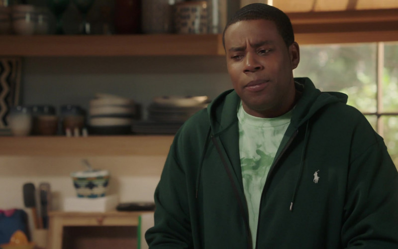 Ralph Lauren Hoodie of Kenan Thompson in Kenan S01E03 The Fourth Hour (2021)