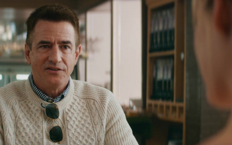 Ray-Ban Men's Sunglasses of Dermot Mulroney as Tom Morrison in Deadly Illusions (2021)