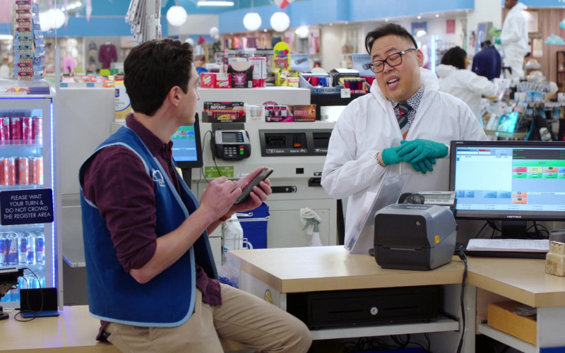 Red Bull Energy Drinks, Rayovac Batteries, Hannspree Hanss.G Monitor in Superstore S06E11 Deep Cleaning (2021)