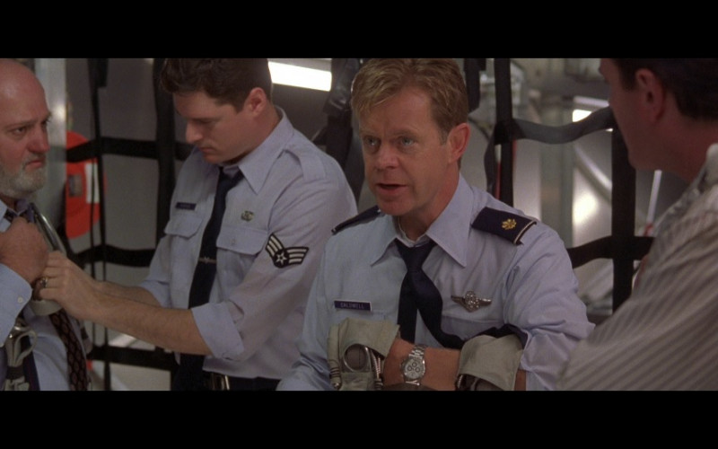 Rolex Daytona Men's Watch of William H. Macy as Major Norman Caldwell in Air Force One Movie (1)