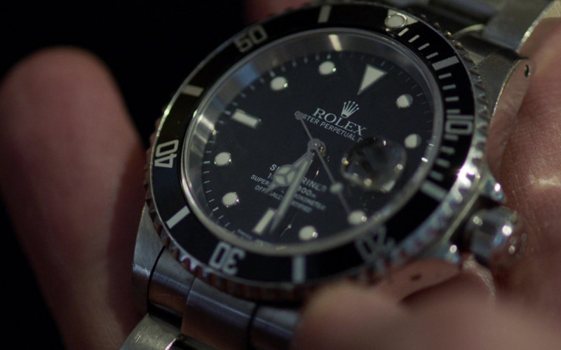 Rolex Oyster Perpetual Date Submariner Watch in Chicago Fire S09E09 TV Show (3)