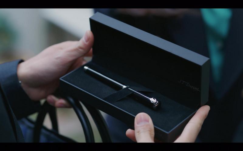 S.T. Dupont Pen in Vincenzo S01E07 Netflix South Korean TV Series (2)