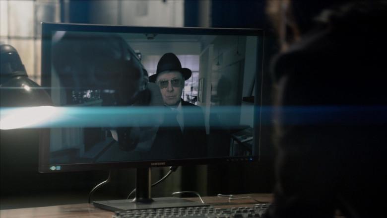 Samsung Computer Monitor in The Blacklist S08E09 (2)