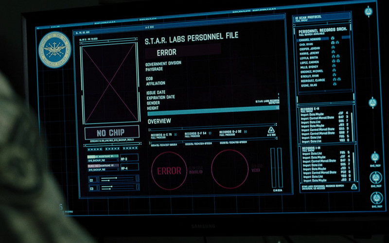 Samsung Monitor in Zack Snyder's Justice League (2021)