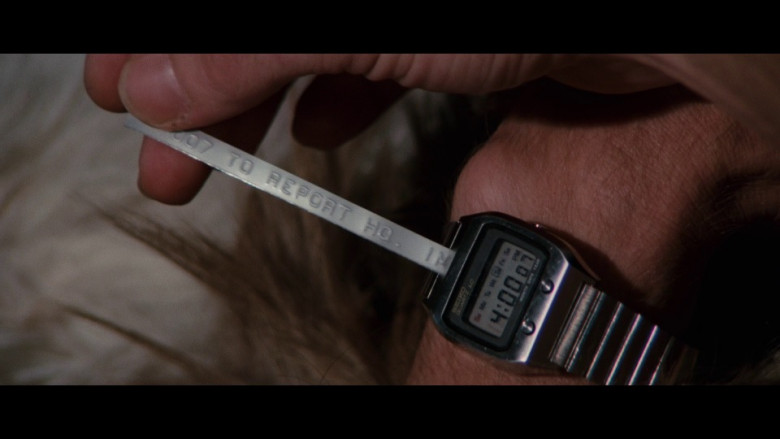 Seiko 0674 5009 Quartz LC Watch in The Spy Who Loved Me (1977)