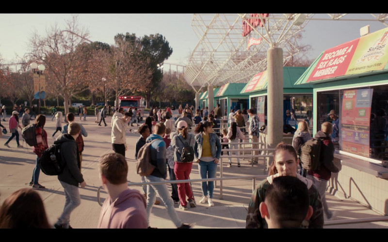 Six Flags Amusement Park in Yes Day Movie (1)